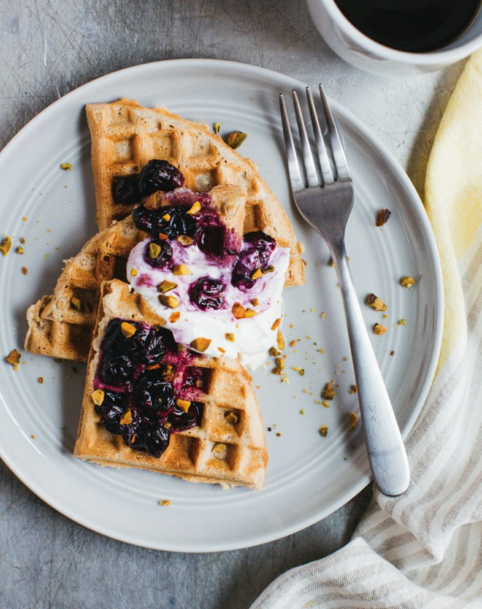 Whole Wheat Weekend Waffles