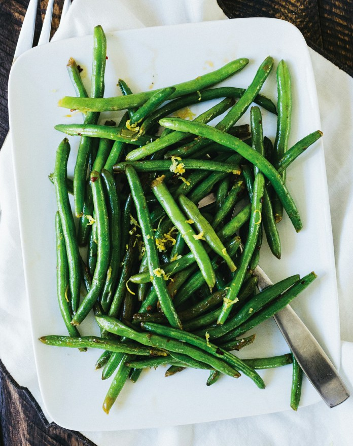Lemon & Pepper Green Beans