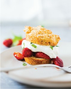 Vanilla-Orange Strawberry Shortcakes