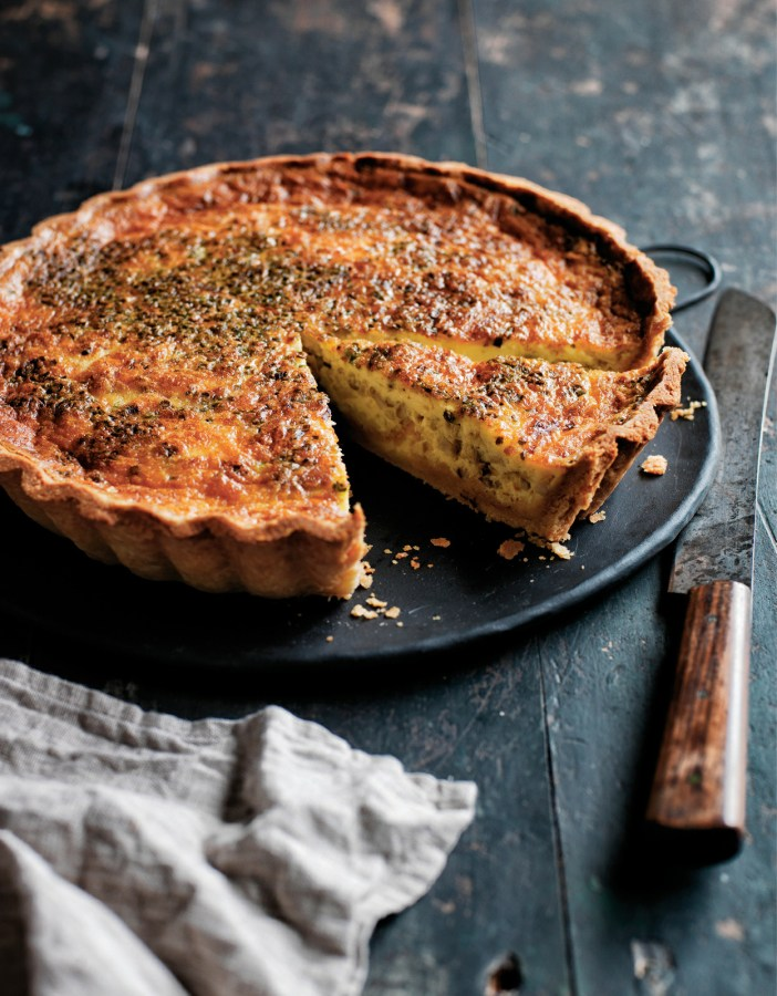 Quiche with Wild Mushrooms,