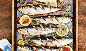 SARDINES BAKED IN