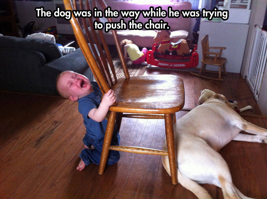 16 Hilarious Photos Of Kids Losing It Over NOTHING  Part