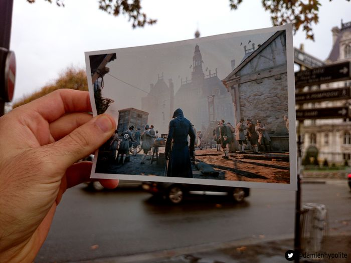 Real Life Assassins Creed Game Locations Found By Damien Hypolite In Paris 14 Photos