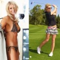 Sophie horn is a british golfer she grew up on a golf course and had