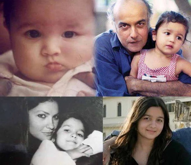Alia Bhatt childhood photos, Bollywood Celebs, Childhood Stars, Unseen childhood pictures, Rare Pics Of Bollywood Celebrities