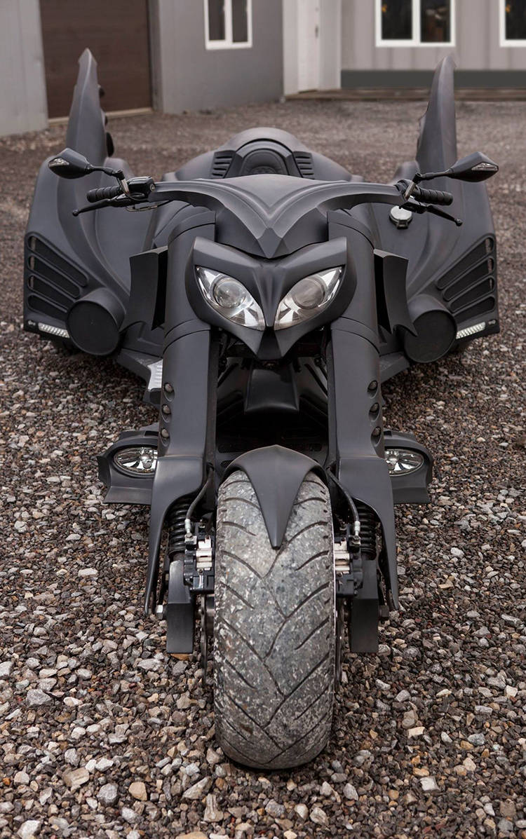 Coolest Motorcycle In The World Quot Badass Batmobile