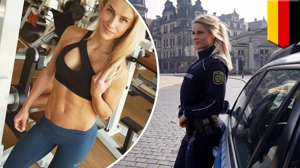 16 Photos Of Worlds Hottest Police Officer From Germany