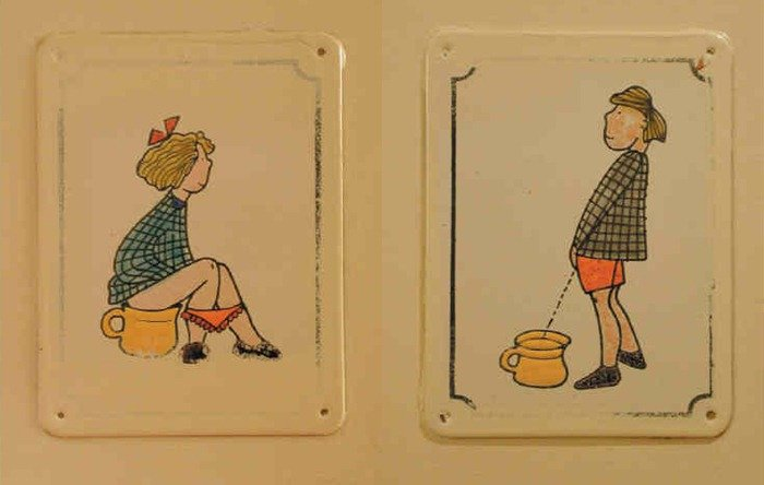 15 Funny and Creative Toilet Signs from Around the World