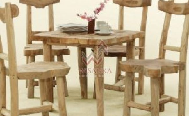 Shuka Sulur Wooden Dining Set Wholesale Furniture Indonesia