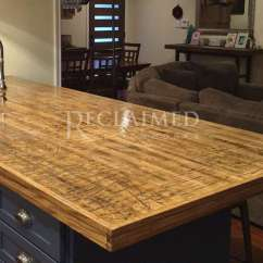Reclaimed Wood Kitchen Island Baseboards Boxcar Planks (raw) | ...