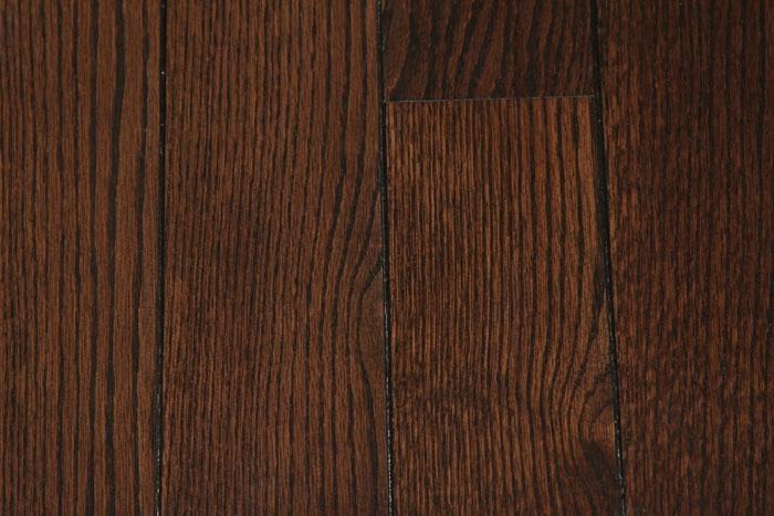 Red Oak Rosewood Color