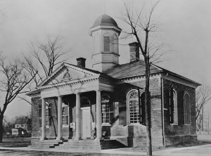 Old James City VA Courthouse, Library of Congress Photograph