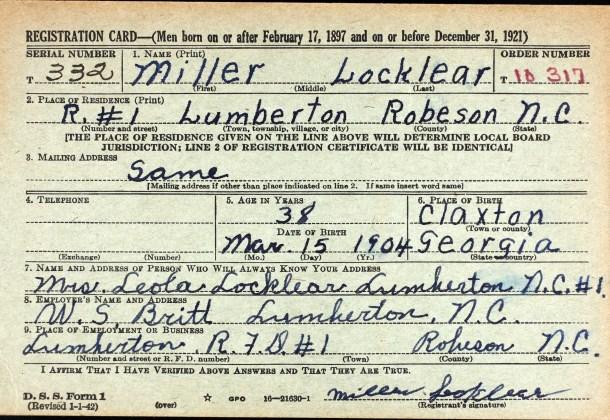 Miller Locklear