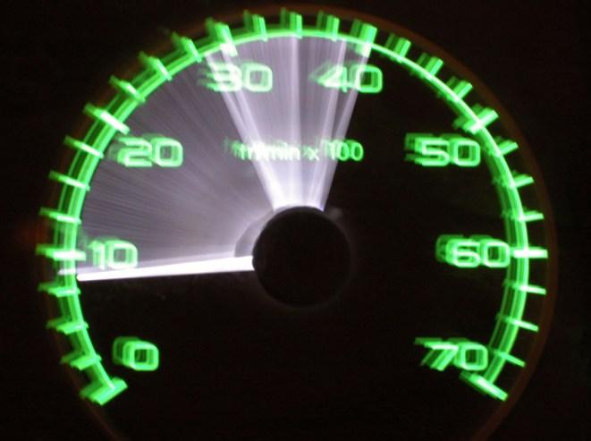 Accidente in itinere y exceso de velocidad
