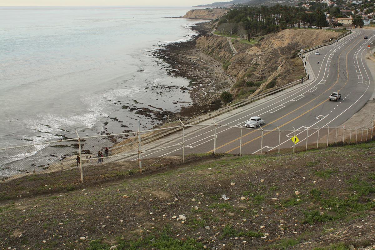 carretera donde ha tenido lugar un accidente con nexo causal. foto de reclamador.es