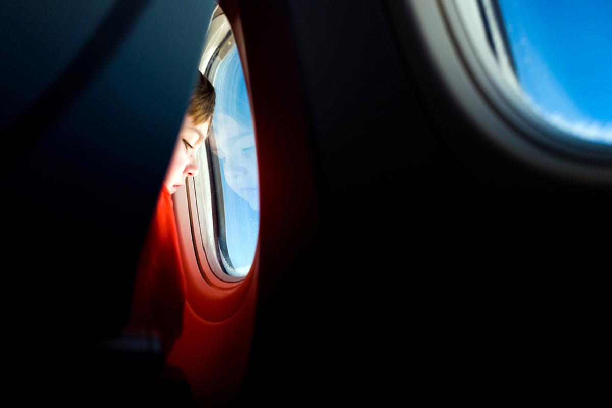 interior del avión de iberia. foto de reclamador.es
