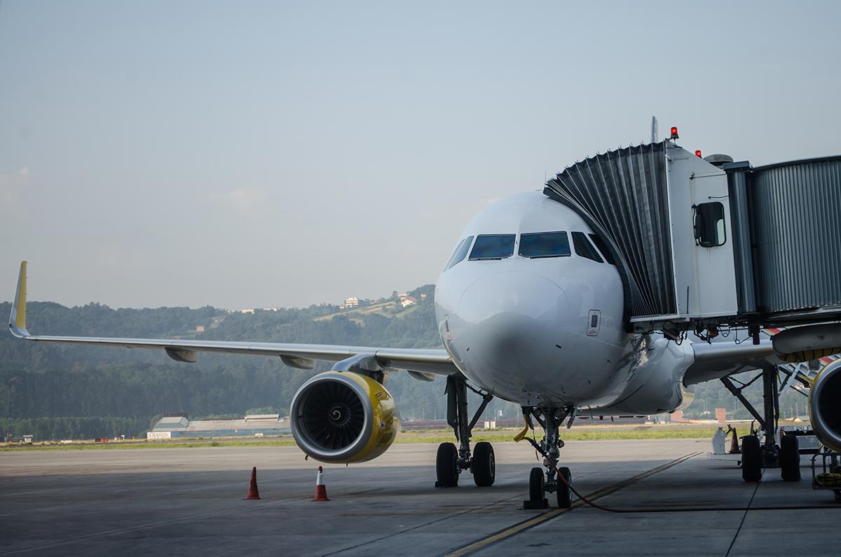 avión de vueling. foto de reclamador.es