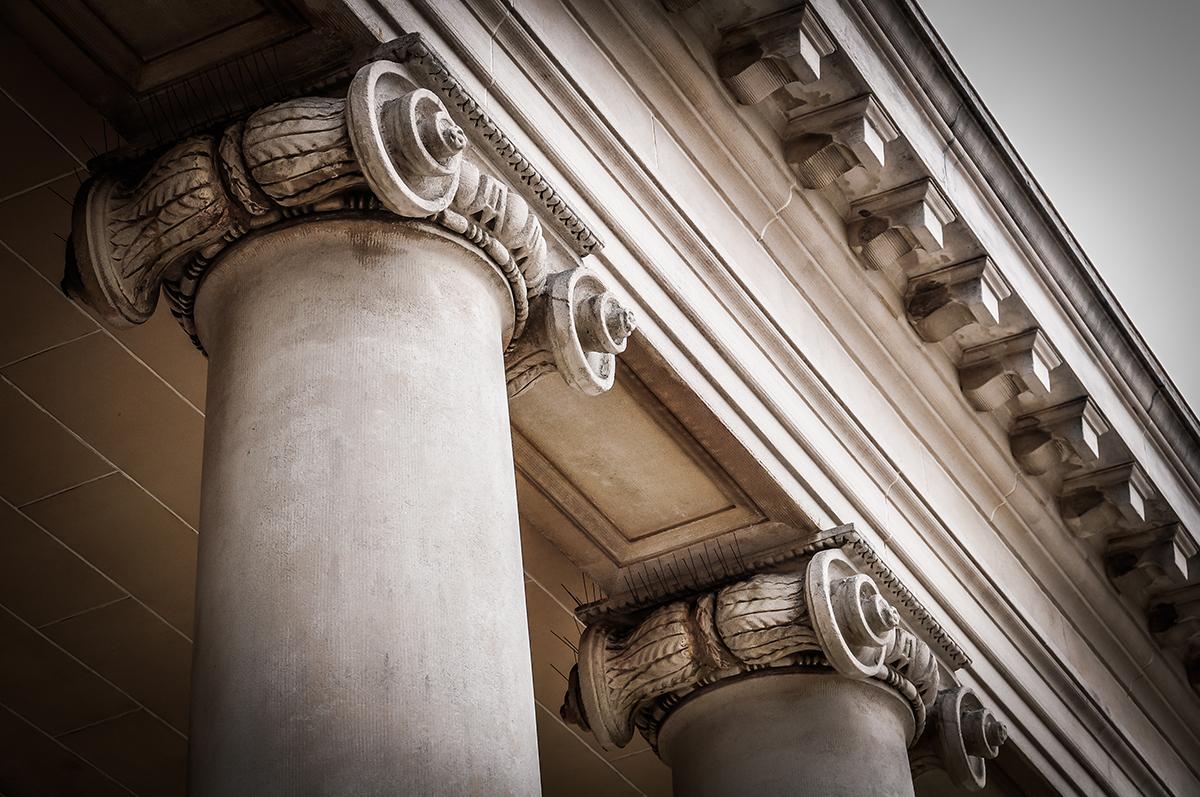 columna de un ayuntamiento que ha cobrado el impuesto de plusvalía municipal
