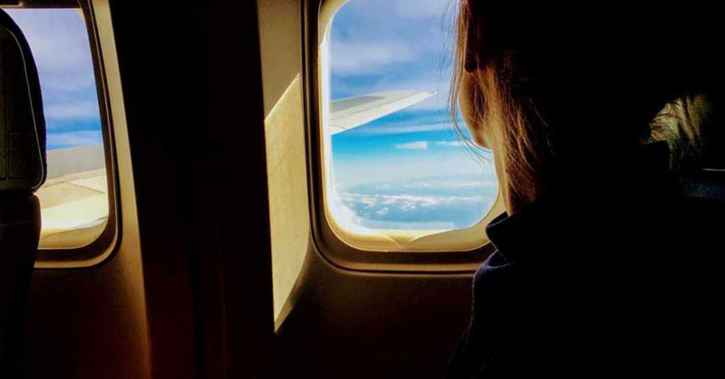 Lidia, reclamadora de aerolíneas
