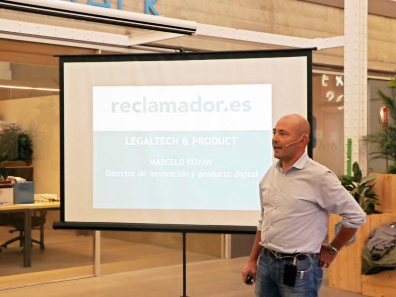 """Marcelo Royán: """"reclamador.es utiliza la tecnología para aportar valor añadido a los clientes"""""""