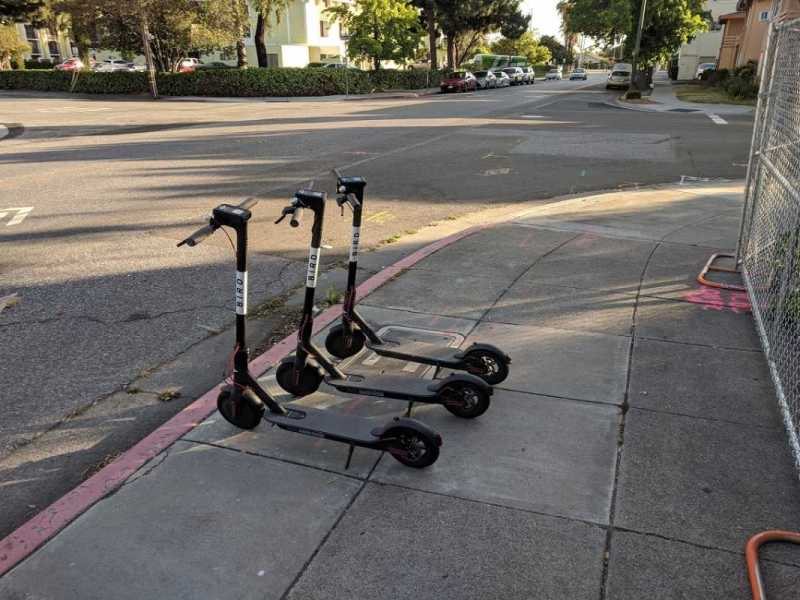 atropello de un patinete eléctrico