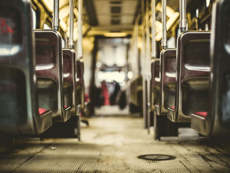 sillas autobús