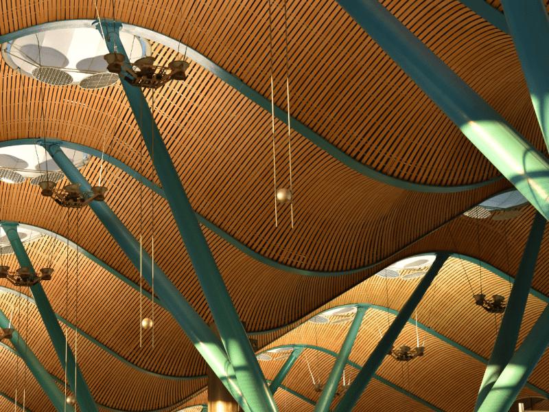 terminal del aeropuerto de madrid