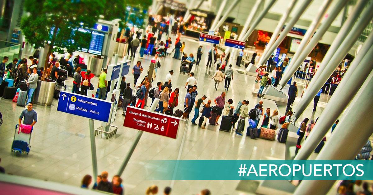 control de seguridad aeropuerto reclamador