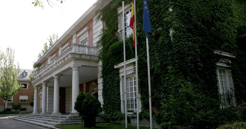 palacio de la moncloa, sede de la presidencia del gobierno en España
