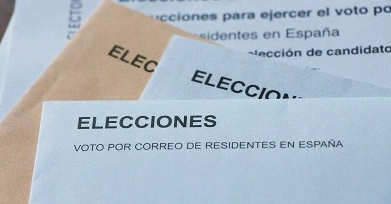solicitar voto por correo online
