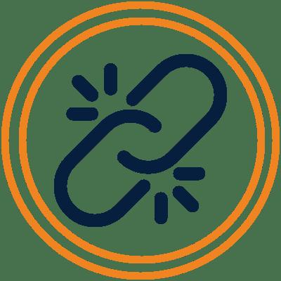 reclamación por pérdida de enlace