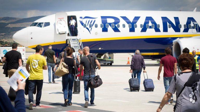 Huelga de tripulantes de cabina de Ryanair