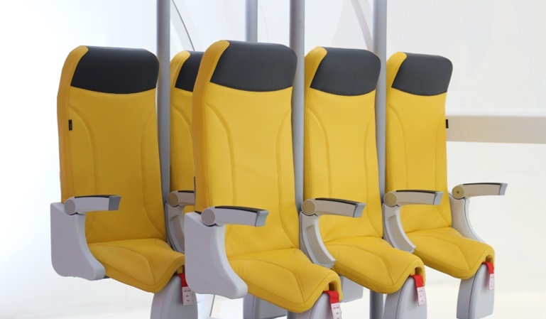 Skyrider 2.0, viajar de pie en un avión ya es posible.