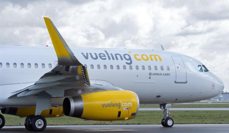 Vueling, la aerolínea más impuntual del Reino Unido