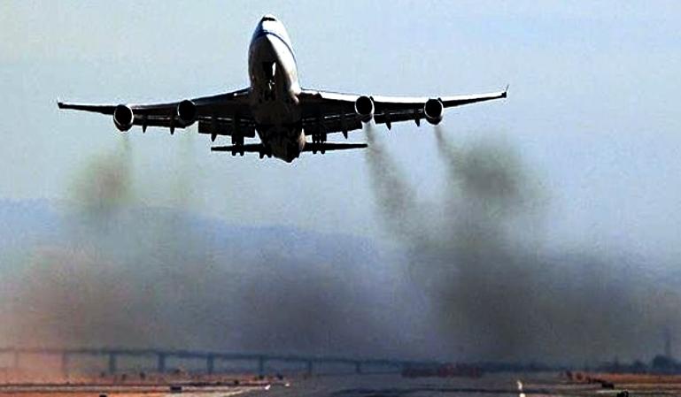 Cómo reducir la contaminación de los aviones