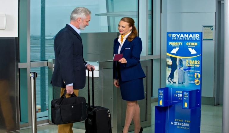 La política de equipaje de Ryanair ante el tribunal