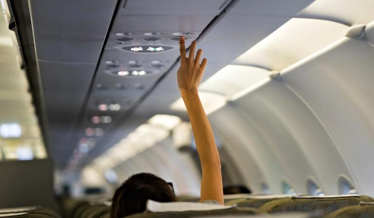Coronavirus: cómo prevenir su contagio en un avión