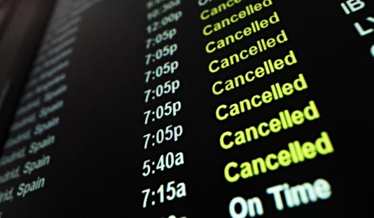 Ryanair y Vueling cancelan vuelos a Italia