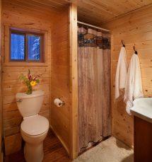 Log Cabin Bathroom Design Ideas