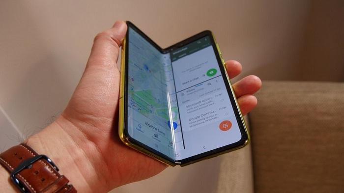 Ada Masalah dilayar, Samsung Tunda Peluncuran Galaxy Fold