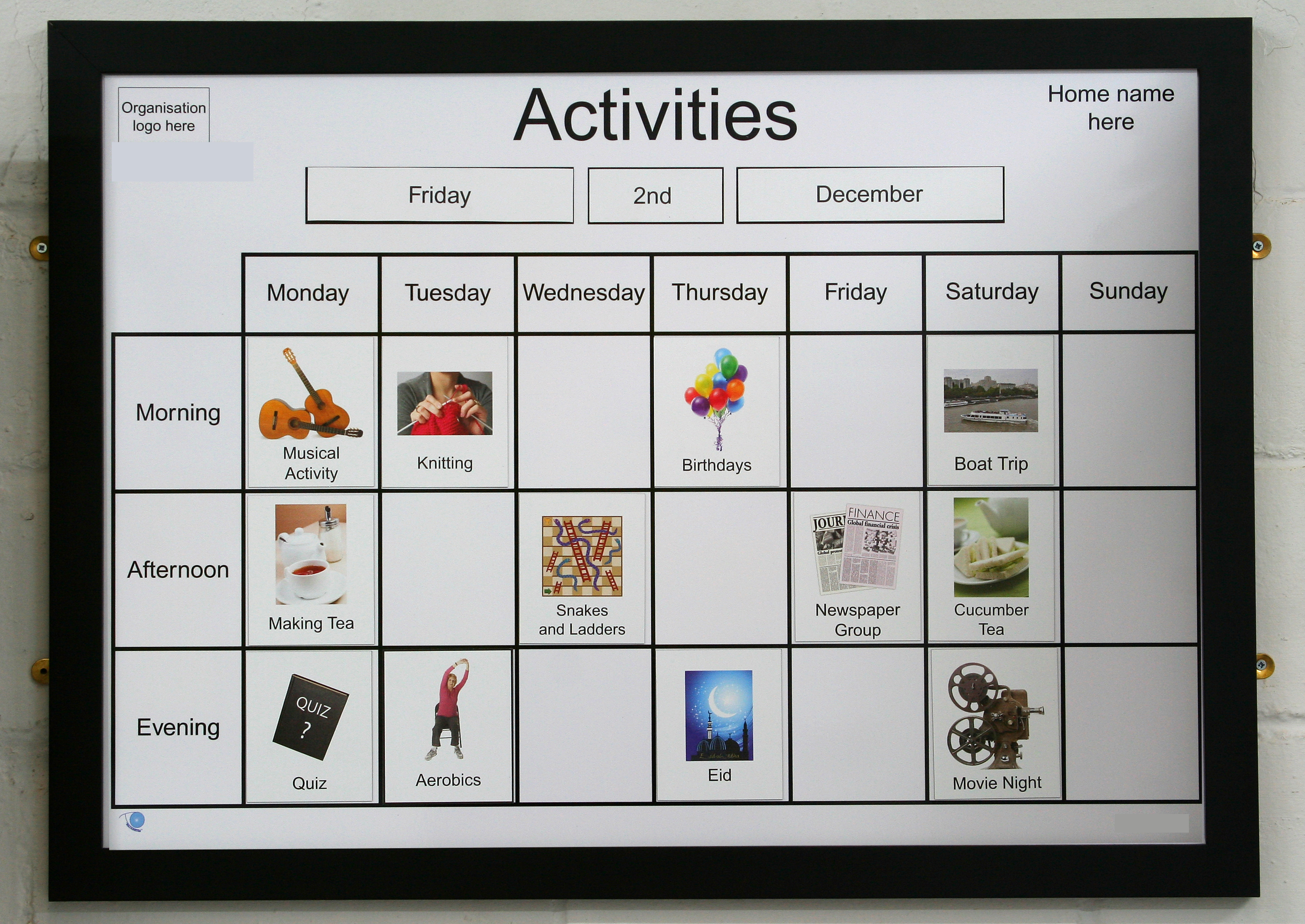 A1 Magnetic Activity Board