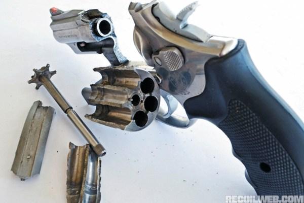 Revolver Guide Recoil