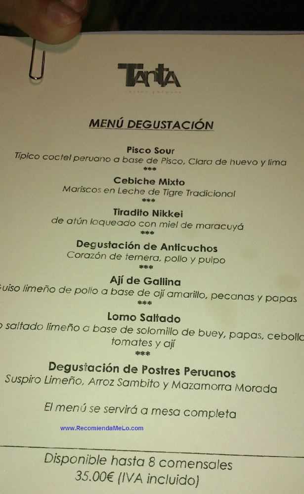 Menus De Restaurantes Italianos