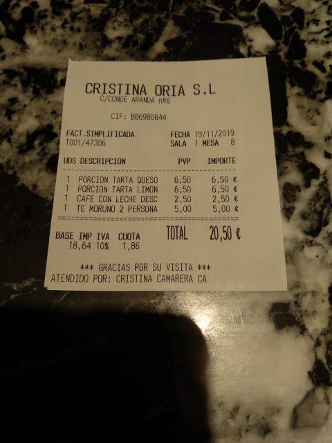 Cristina Oria (Madrid)