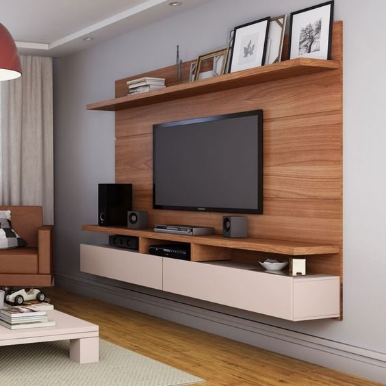 tv cabinet for living room wall storage units 15 designs that will make your ultra stylish suspended with high shelf photo frames