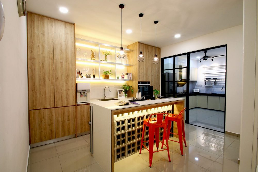 14 Wet And Dry Kitchen Design Ideas In Malaysian Homes Recommend