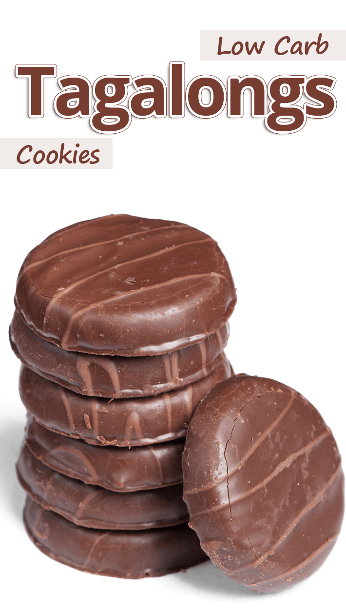 Low Carb Tagalongs Cookies