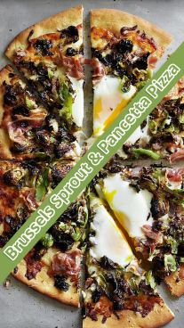 Brussels Sprout & Pancetta Pizza