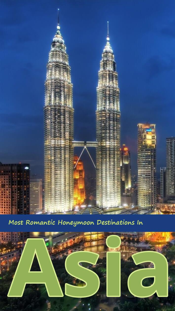 Most Romantic Honeymoon Destinations In Asia