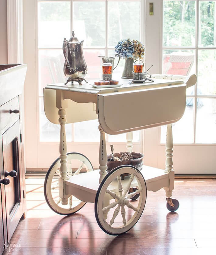 DIY - Tea Cart Makeover